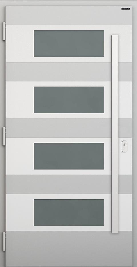 Slika prikazuje nova vhodna vrata, vzorec: 029