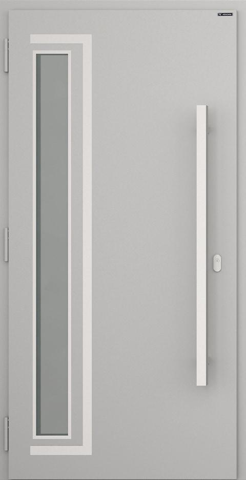 Slika prikazuje nova vhodna vrata, vzorec: 031
