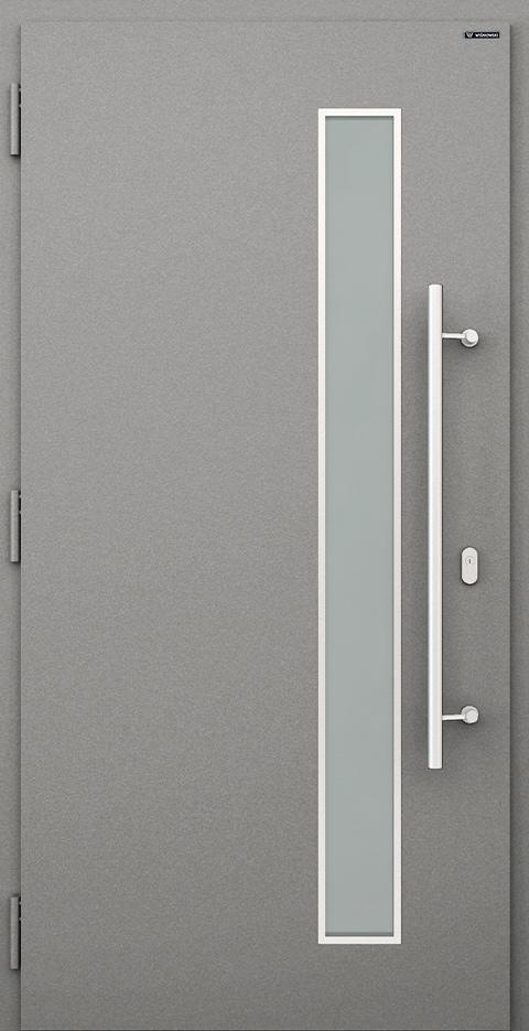 Slika prikazuje nova vhodna vrata, vzorec: 032