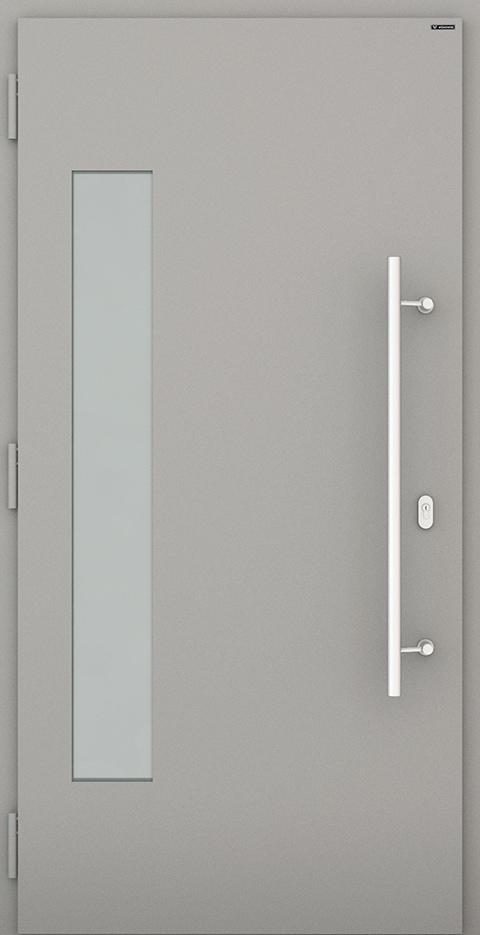 Slika prikazuje nova vhodna vrata, vzorec: 036