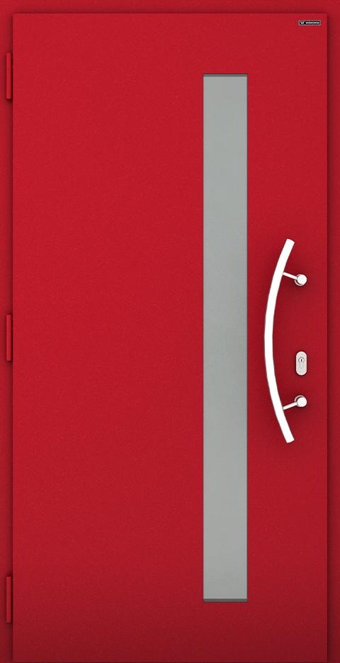 Slika prikazuje nova vhodna vrata, vzorec: 037