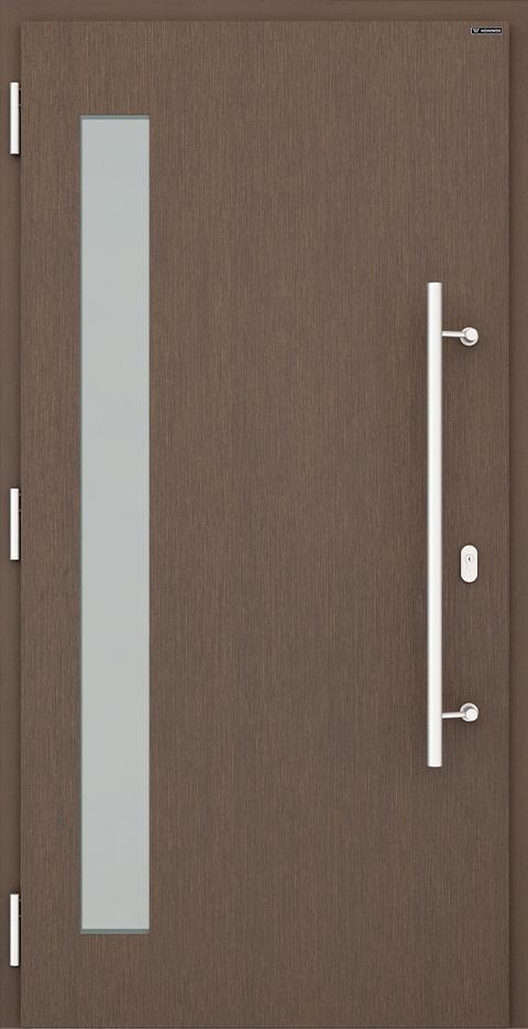 Slika prikazuje nova vhodna vrata, vzorec: 039