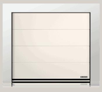 Slika prikazuje sekcijska garažna vrata